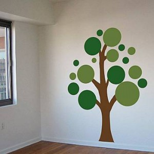 Dali Decals Circle Tree