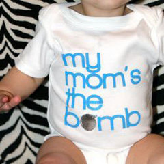 The Bomb Mom onesie
