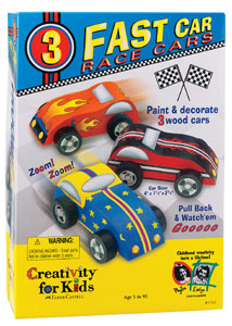 Creativity for Kids Race Cars