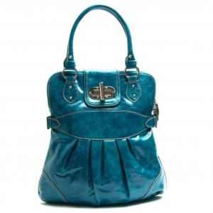 Handbag Heaven Melie Bianco Pleated Tote