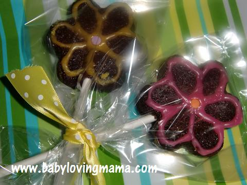 Wilton Brownie Pops Finished