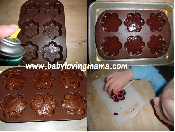 Wilton Brownie Pops Process