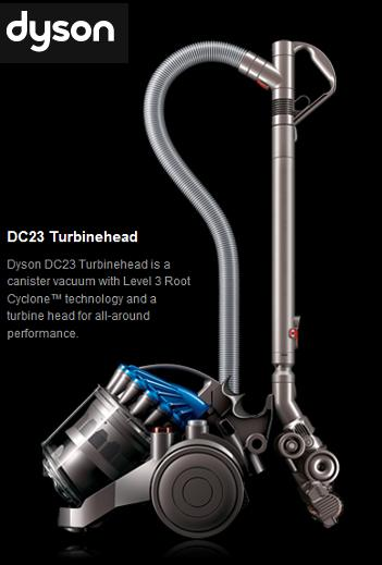 dyson dc23 turbinehead vacuum review finding zest. Black Bedroom Furniture Sets. Home Design Ideas
