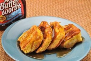 Mrs. Butterworth's Hawaiian French Toast