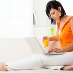 istock Woman and Laptop