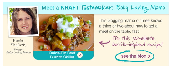 Kraft Foods Newsletter Feature