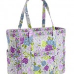 Vera Bradley Get Carried Away Tote Watercolor