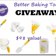 Wilton Better Baking Tools {Spring Event Giveaway #32} CLOSED