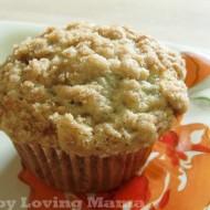 Amazing Banana Crumb Muffins {Recipe}