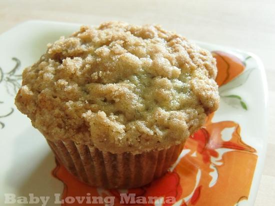 Amazing Banana Crumb Muffins {Recipe} - Baby Loving Mama