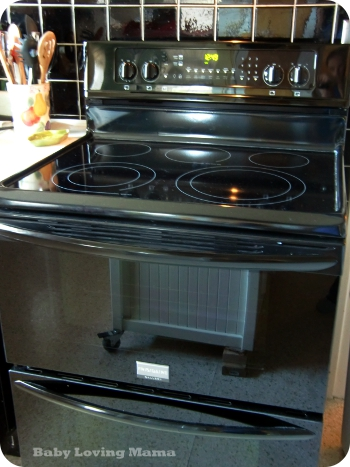 besides - Frigidaire Gallery Stove