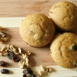 Pumpkin Raisin Nut Muffins