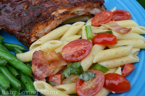Pillsbury Bacon n Basil Pasta Salad