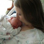 Kissing Wesley After Birth
