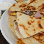 Hormel Canadian Bacon Breakfast Quesadillas 4