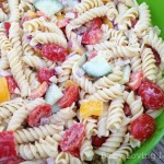 Salsa Ranch Pasta Salad Healthy 1