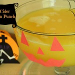 Apple Cider Halloween Punch