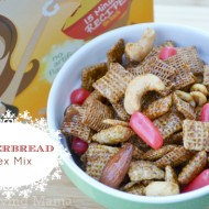 Easy Gingerbread Chex Mix {Recipe}