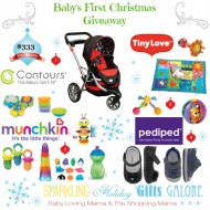 Sparkling Holiday Gifts Galore: Baby's First Christmas Giveaway