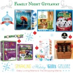 Sparkling Holiday Gifts Galore Family Night