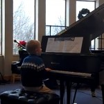 Lucian Playing Piano at Recital