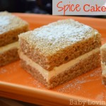 Spice Cake Bars with Cream Cheese Filling