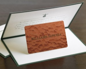 Williams Sonoma Gift Card