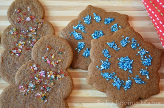 Wilton Christmas Baking Gingerbread Snowflake Snowman