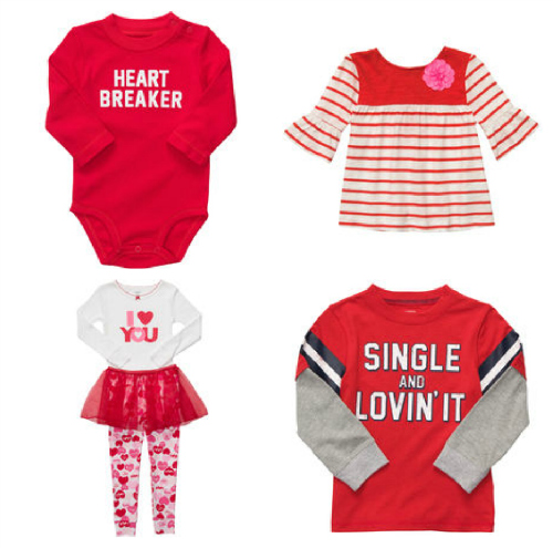 Carters Valentines Day Options