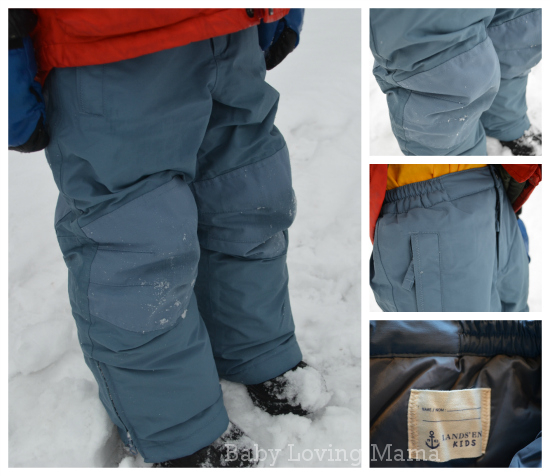 Lands End Waterproof Squall Snow Pants Boys 2