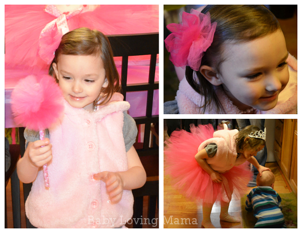 Ballerina Birthday Party Tutu Loopy