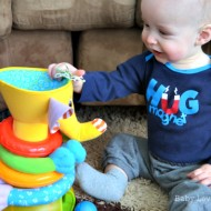 Toy Fun with Musical Stack & Ball Game Elephant & Follow Me Fred from Tiny Love {Review & Giveaway}