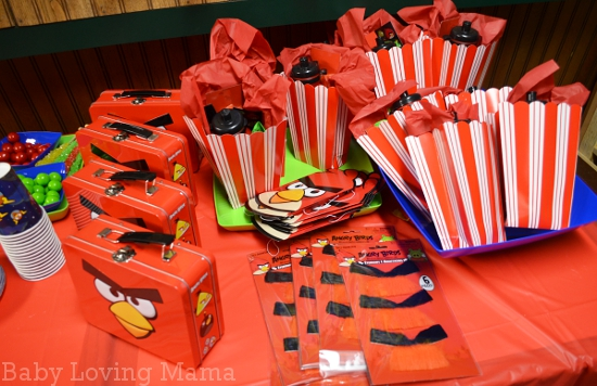 Warrens Fun Angry Birds Birthday Party From Party City Finding Zest - Childrens birthday parties pizza hut