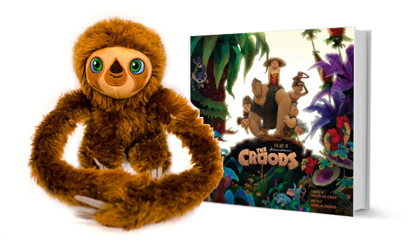 The Croods Belt Croods-book-plush