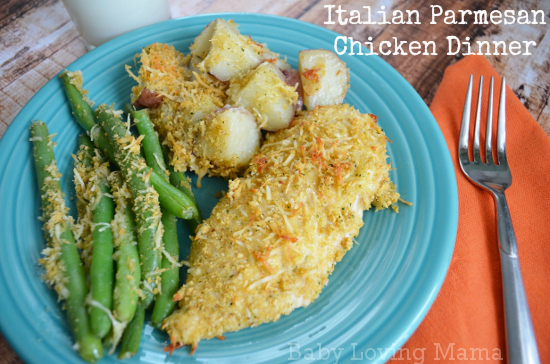 Italian Parmesan Chicken Dinner Kraft Fresh Takes