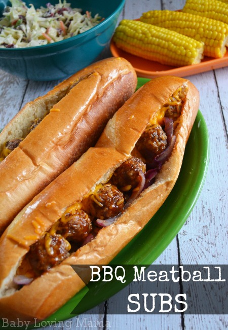 Kraft Fresh Take Barbecue Meatball Sub Sandwich
