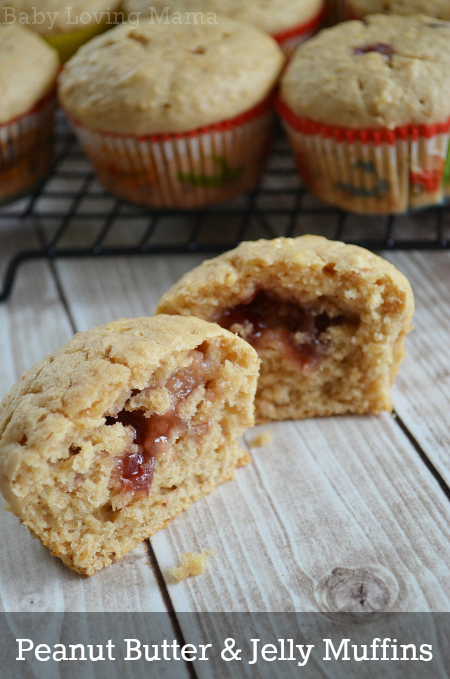 Peanut Butter Jelly Muffins Strawberry Welches