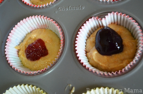 Peanut Butter and Jelly Muffins 1