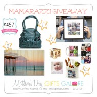 Mamarazzi Giveaway for Picture Happy Mamas | Mother's Day Gifts Galore