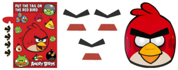 Party City Angry Birds Party Entertainment Games
