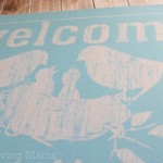 Personal Creations Family Nest Birds Doormat 1