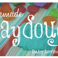 Homemade Playdough Recipe with Large and Small Batch Options
