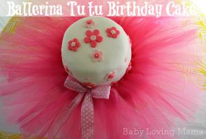Ballerina Tutu Birthday Cake