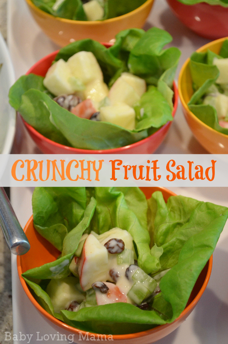 Crunchy Apple Fruit Salad