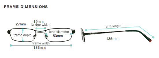 Eyeglass Frame Temple Size : Glasses Direct Offers Prescription Sunglasses {Review ...