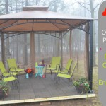 Home Depot Envirotile Raised Gazebo DIY Project Final Reveal