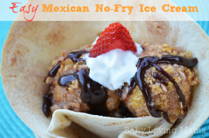 Mexican Ice Cream No Fry Recipe