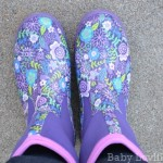 Muck Boot Company Breezy Mid Cool Purple Print