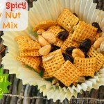 Sweet and Spicy Honey Nut Chex Mix Gluten Free