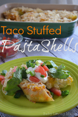 Taco Stuffed Pasta Shells Recipe
